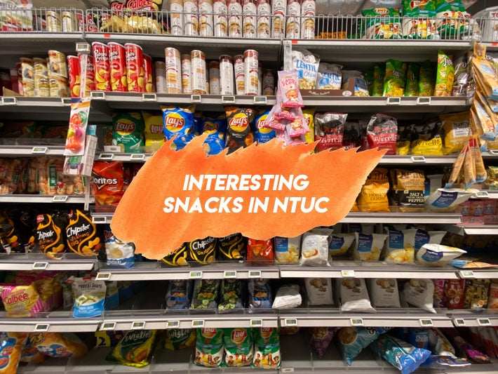 10 Interesting Snacks From NTUC Fairprice Including Poppadom Chips & Salted Egg Boba Ice Cream