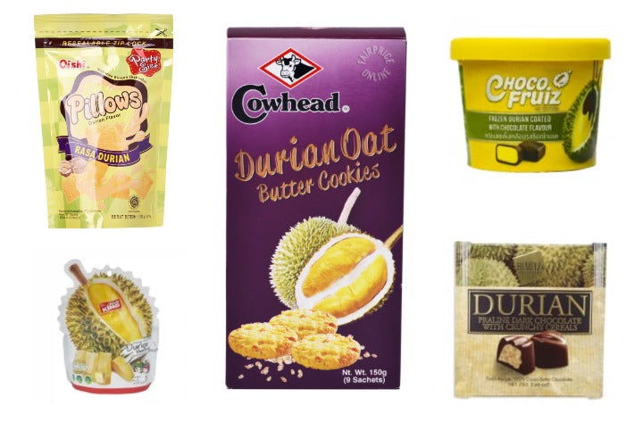 9 Durian Snacks In Singapore - Durian Chocolate, Durian Butter Cookies, & Durian Ice Cream