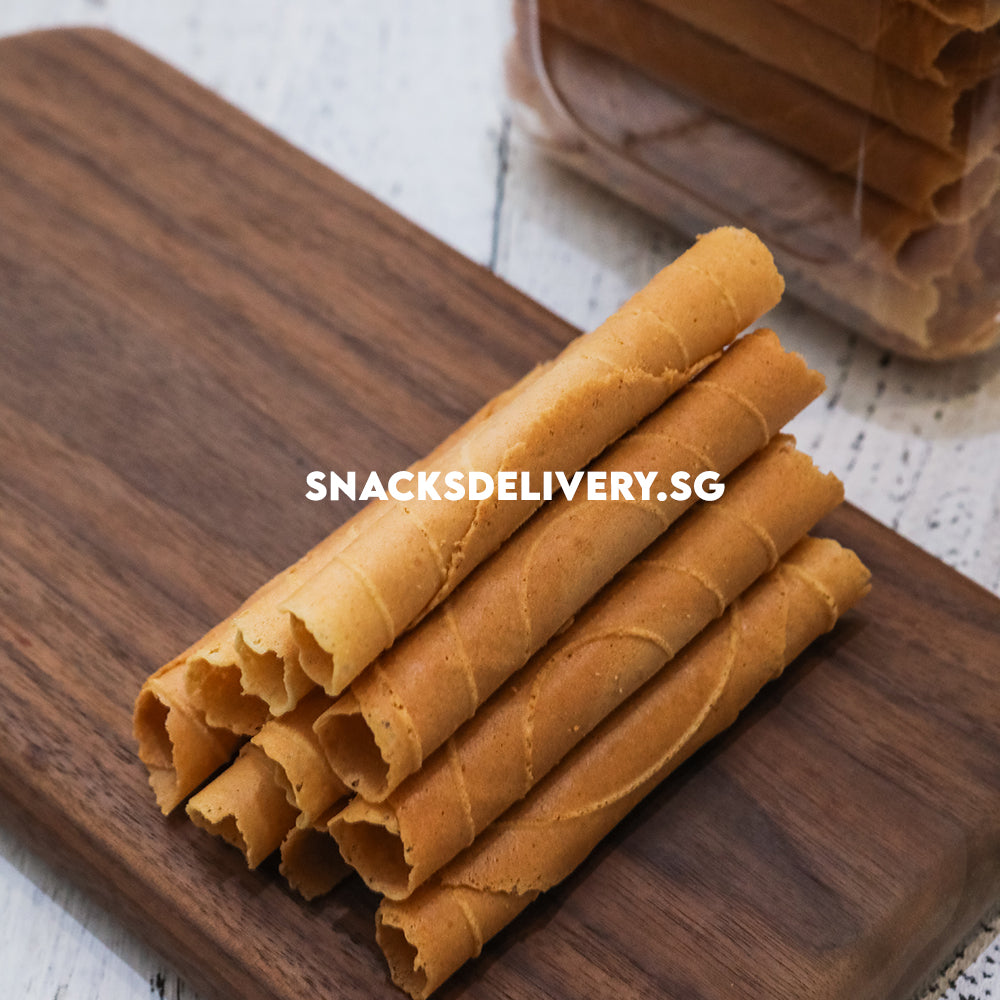 Musang King Durian Egg Rolls