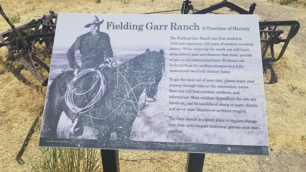 Garr Ranch Tour *NEW THIS SEASON*