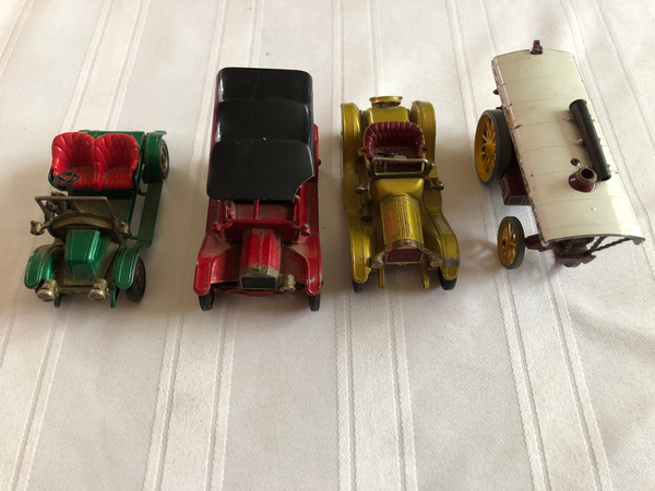 4 Models of Yesteryear Cars