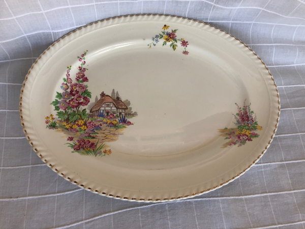 Oval Johnson Brothers Plate