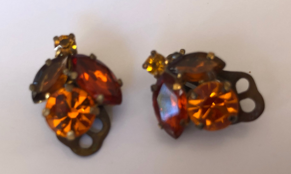 Vintage Clip-on Earrings