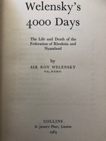 'Welensky's 4000 Days'