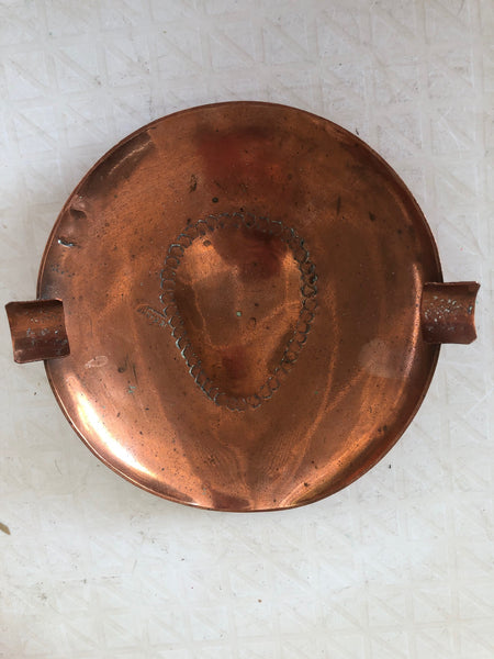 De Klerk Stamped Cape Copper Ashtray