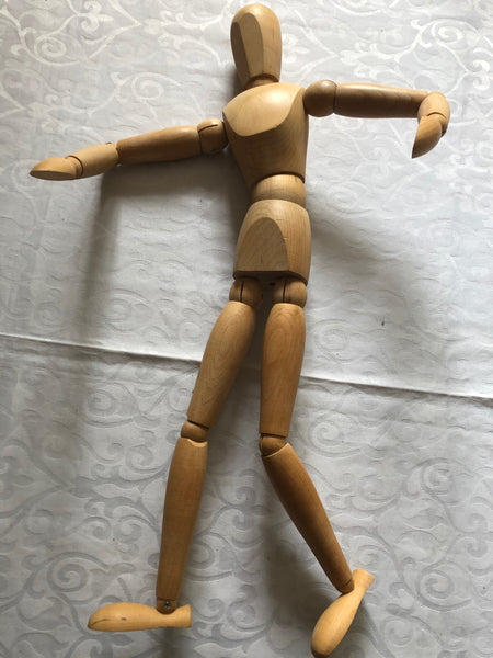 Wooden Mannequin with Stand