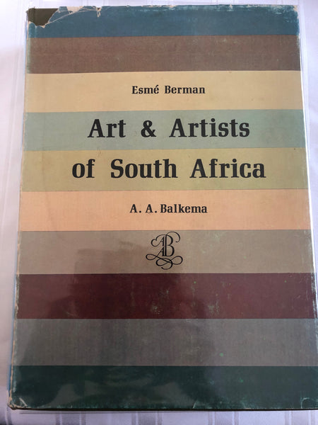 'Art & Artists of South Africa' by A.A. Balkema