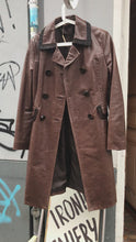 Load and play video in Gallery viewer, John Richmond leather coat