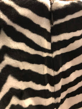 Load image into Gallery viewer, Zebra mini skirt