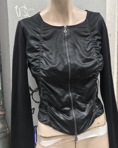 Marithe Francois Girbaud zip up top / jacket
