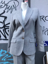 Load image into Gallery viewer, Alexander McQueen wool stripe suit