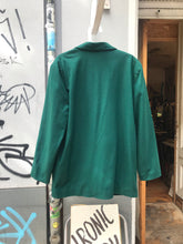 Load image into Gallery viewer, Vintage Celine Paris green wool jacket