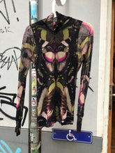 Load image into Gallery viewer, Butterfly mesh top by Jean Paul Gaultier