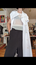 Load image into Gallery viewer, Maison Margiela sleeveless trench coat / dress