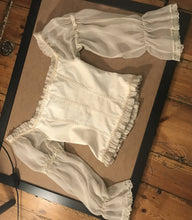 Load image into Gallery viewer, Reserved! French vintage corset
