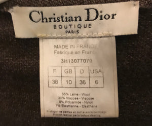 Dior by John Galliano wool jacket