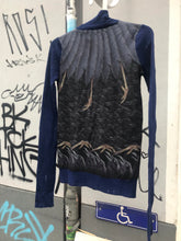 Load image into Gallery viewer, John Richmond wool jumper with bird prints