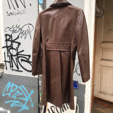 Load image into Gallery viewer, John Richmond leather coat
