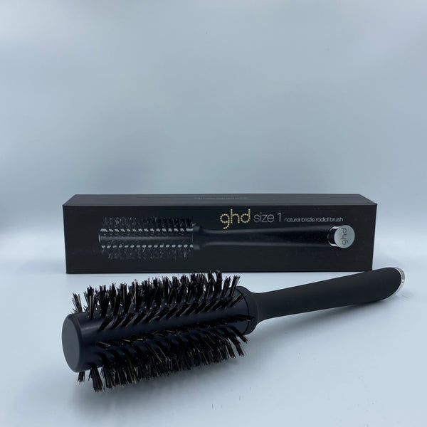 ghd Size 1 Natural Bristle Radial Brush