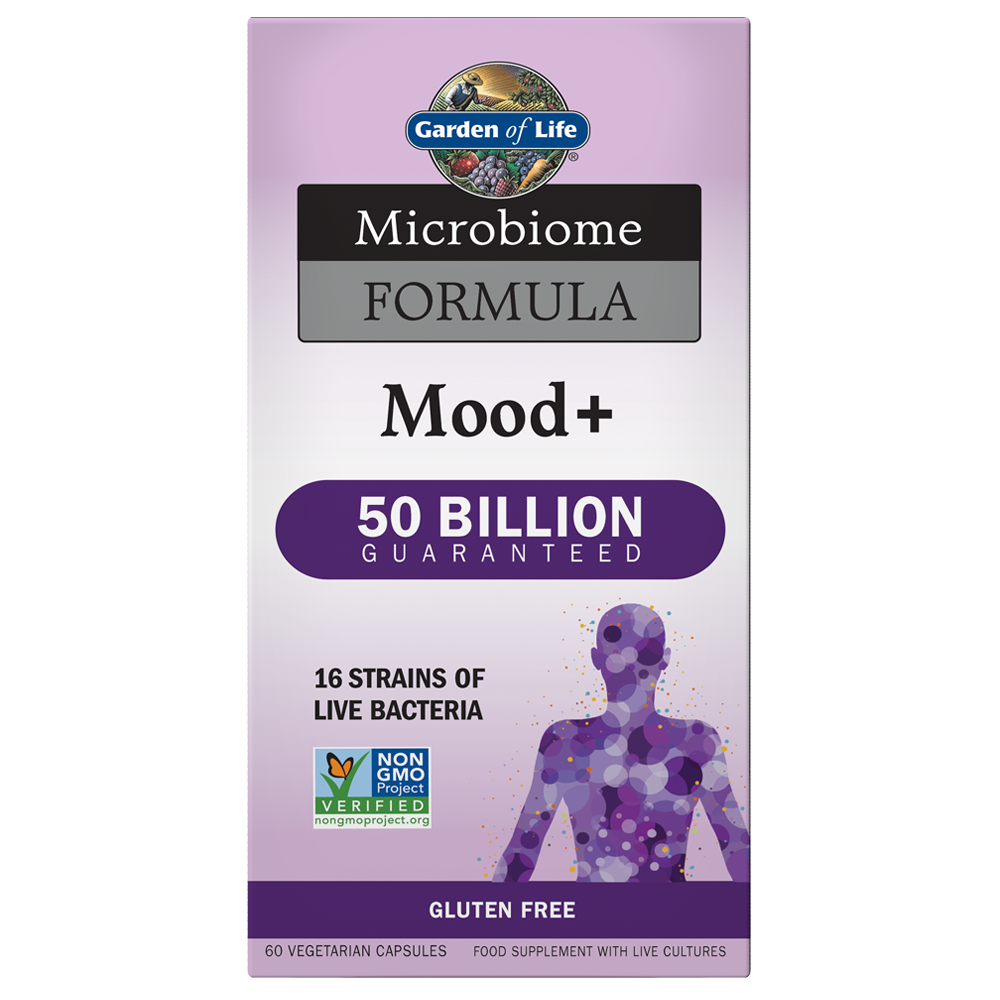 Microbiome Probiotic Formula Once Daily Mood+ (60 count)