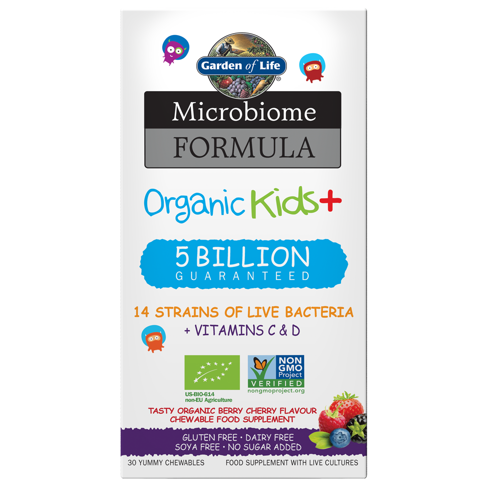 Microbiome Probiotic Formula Once Daily Kids+ (30 count)