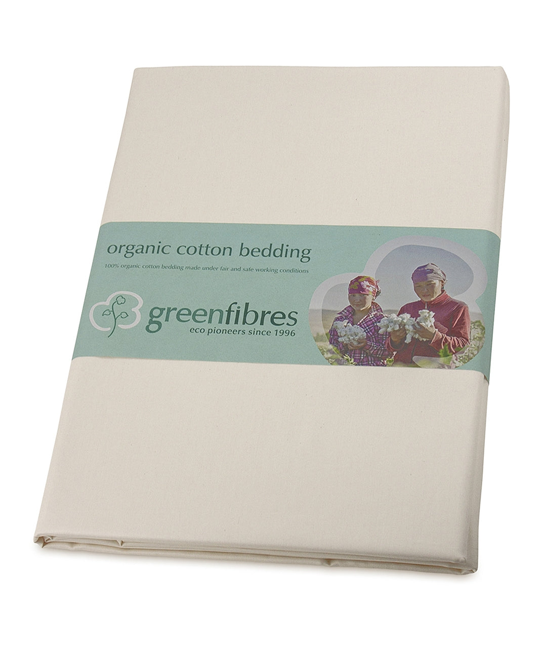 Finest Sateen Organic Fitted Sheet (Various sizes)