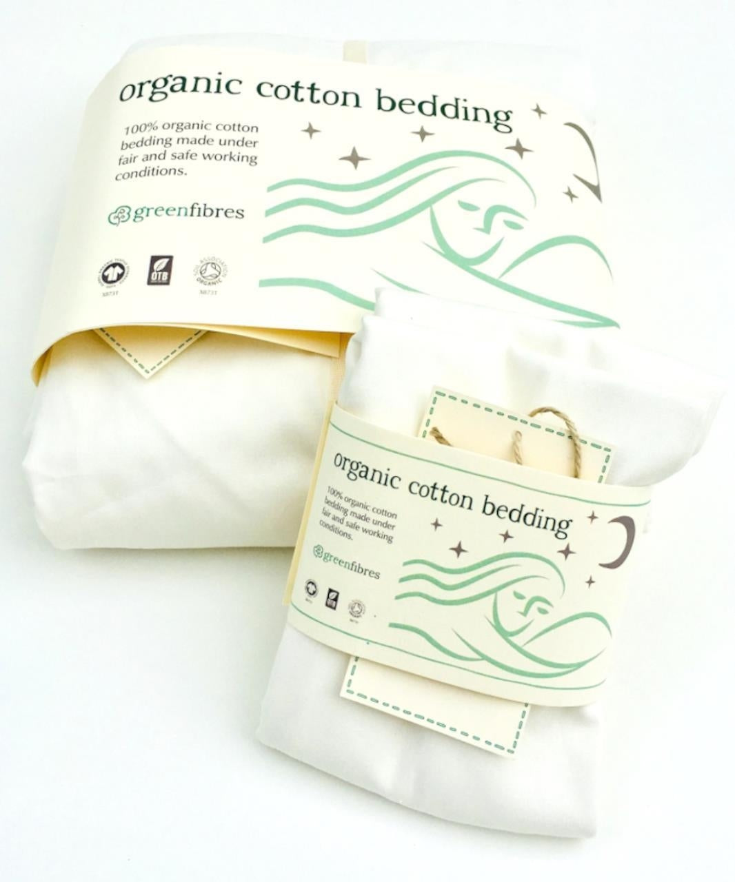 Everyday Organic Fitted Sheet (Various sizes)