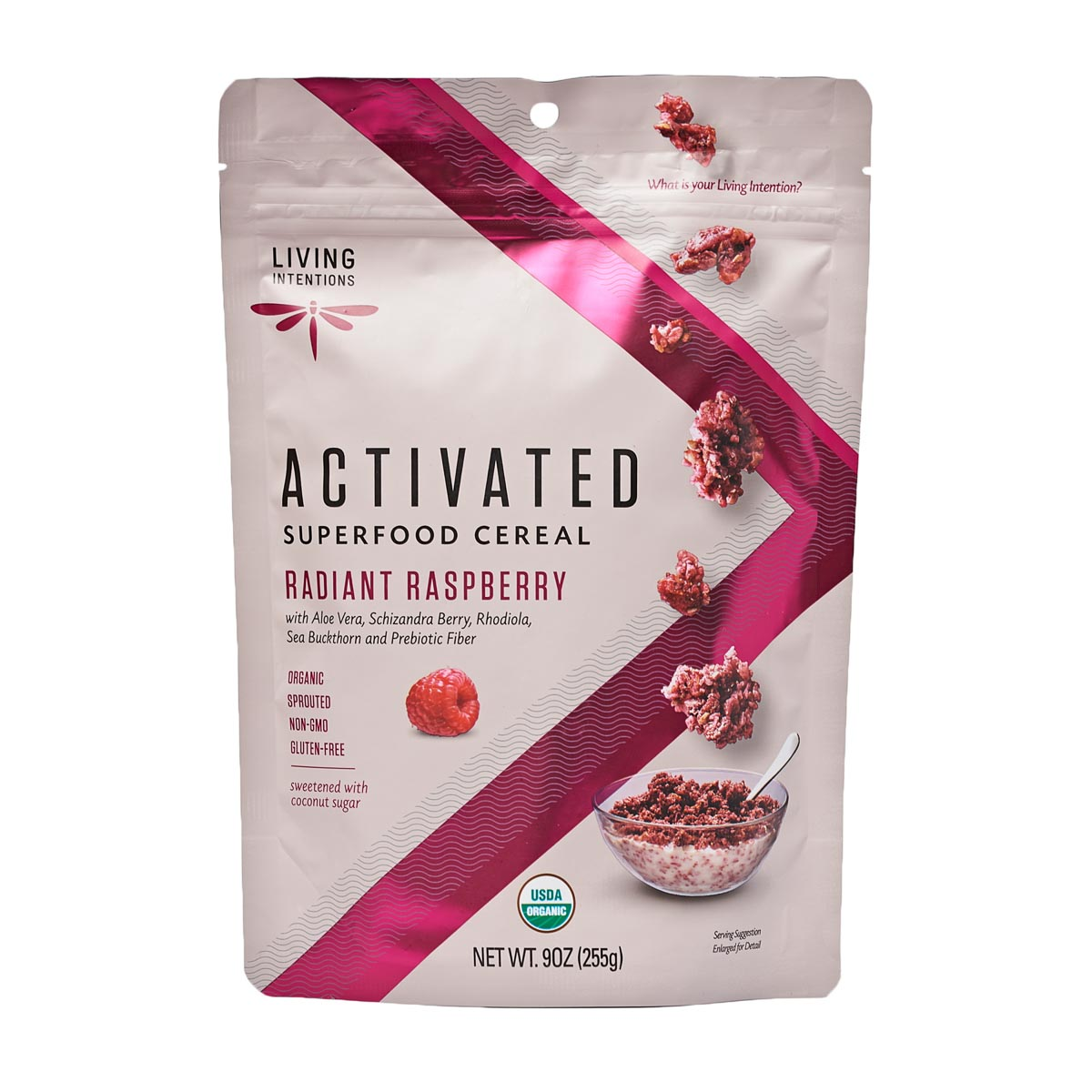 Super Food Cereal - Radiant Raspberry (255g) - Living Intentions