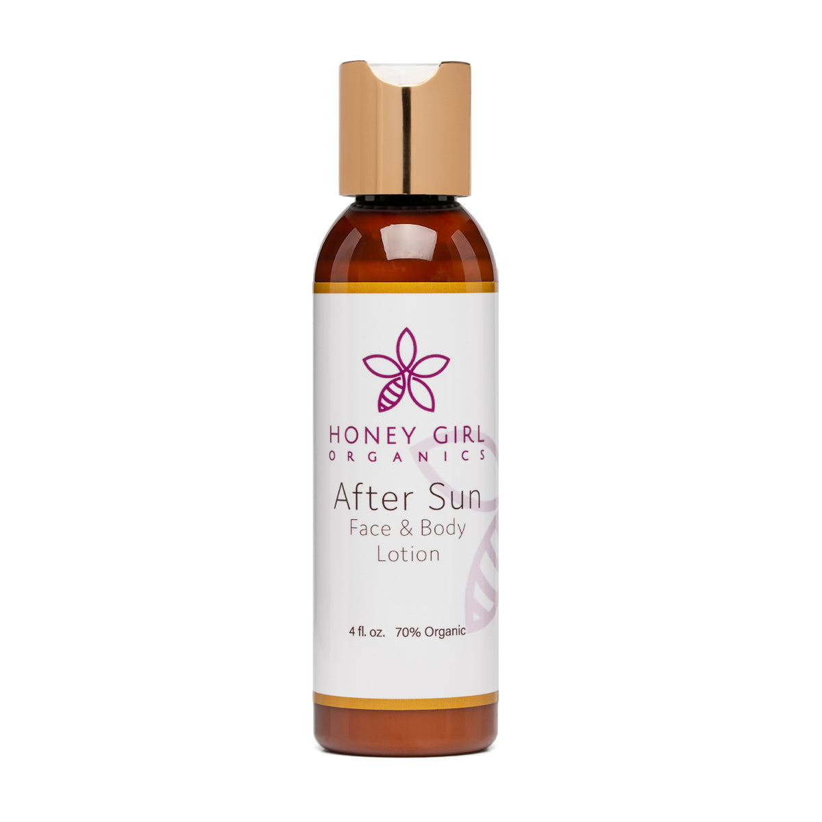 After Sun Face and Body Lotion (4 fl.oz) - Honey Girl Organics