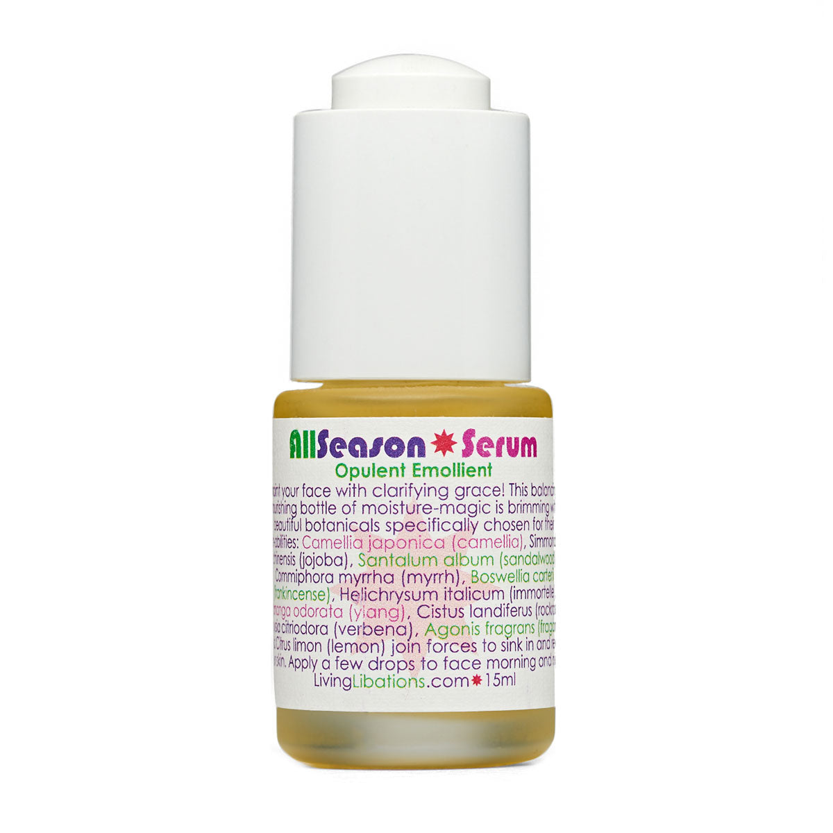 Living Libations - All Season Serum (15ml)