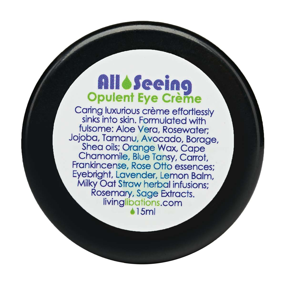 Living Libations - All Seeing Eye Cream (15ml)