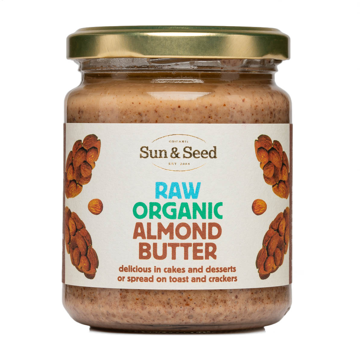 Almond Butter - Raw and Organic (250g, 5kg)