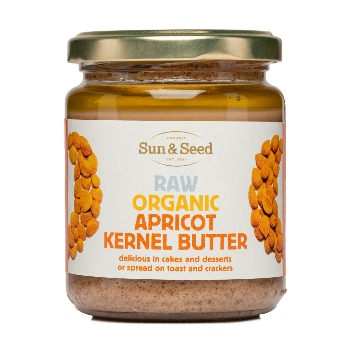 Apricot Kernel Butter - Raw and Organic (250g)