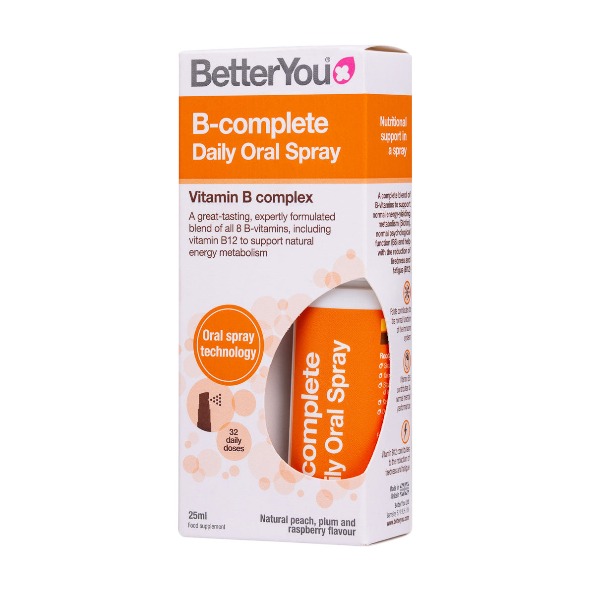 B Complete Daily Oral Spray (25ml) - BetterYou