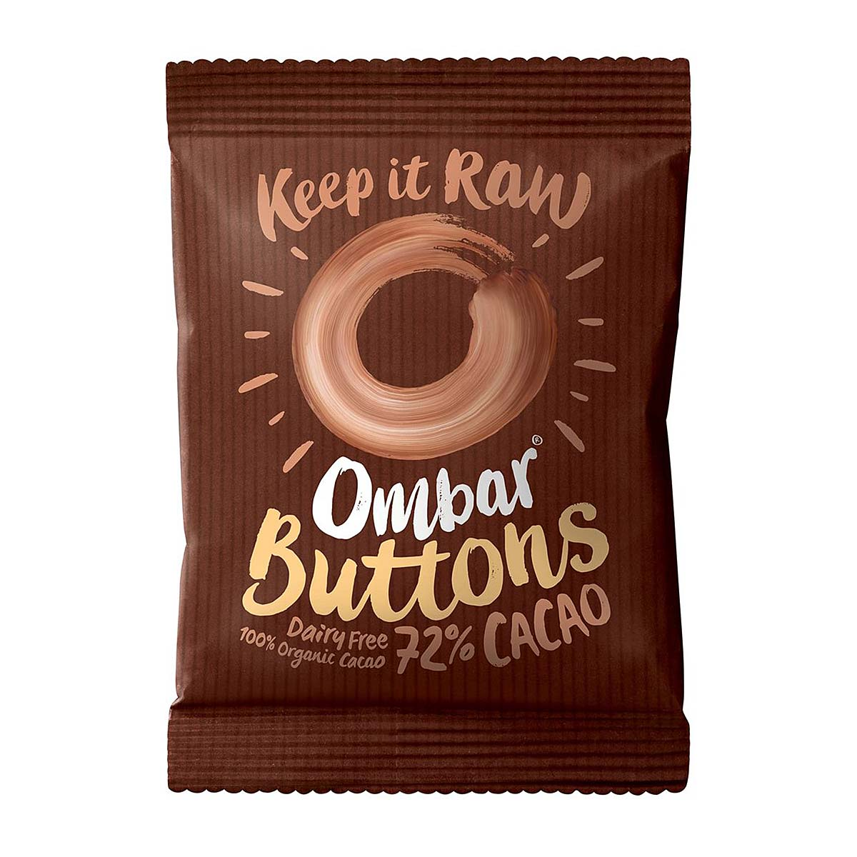 Ombar Organic 72% Cacao Buttons (25g)