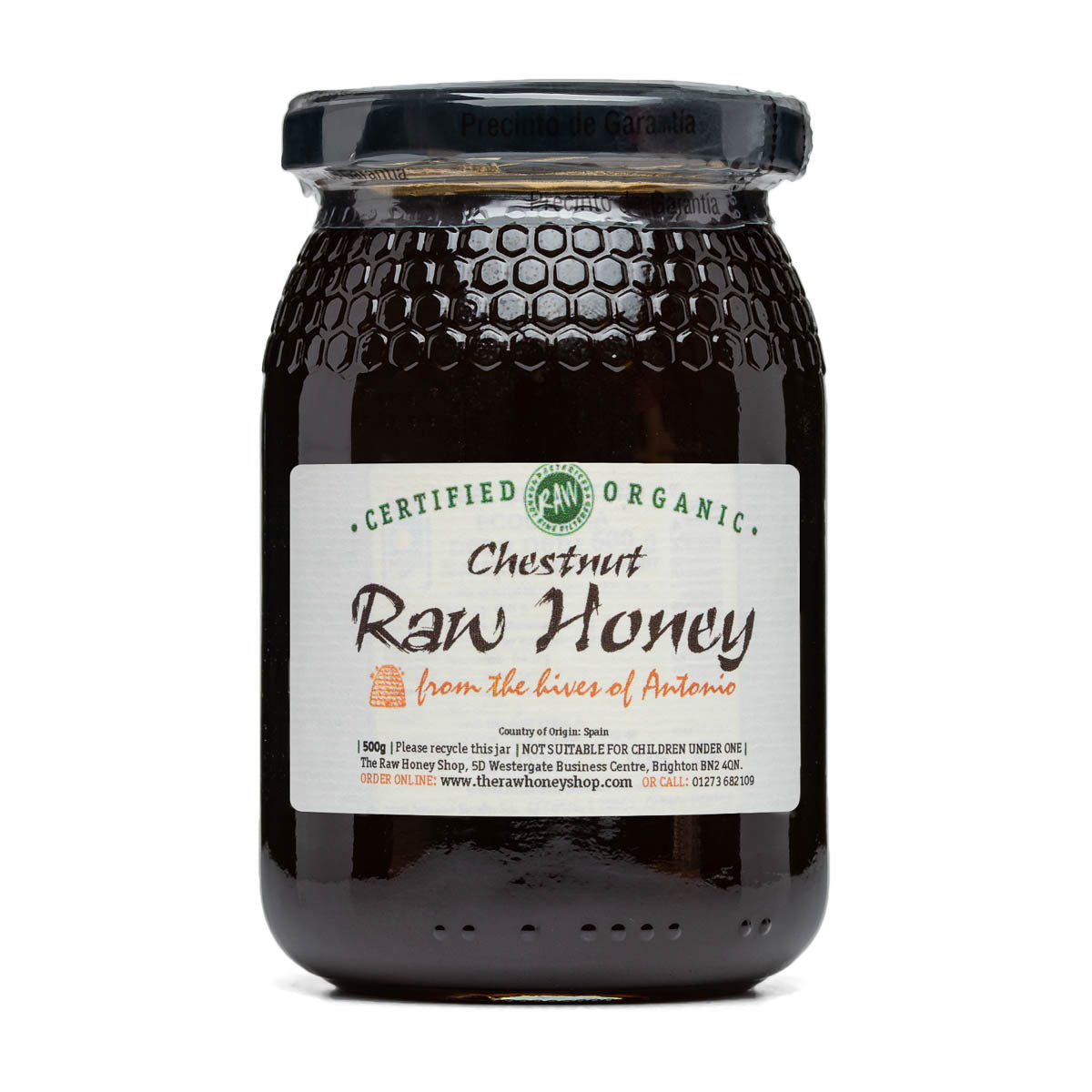 Raw Honey - Chestnut 500g