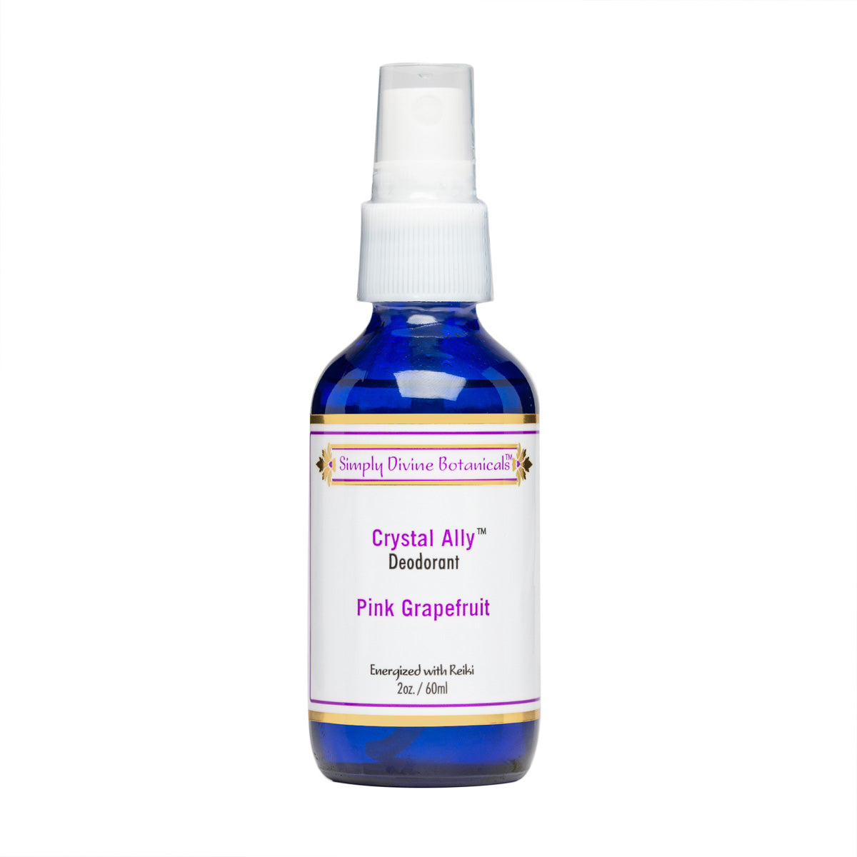 Crystal Ally - Keeping Abreast Of It (Deodorant with a purpose!) - (2oz) - Simply Divine Botanicals