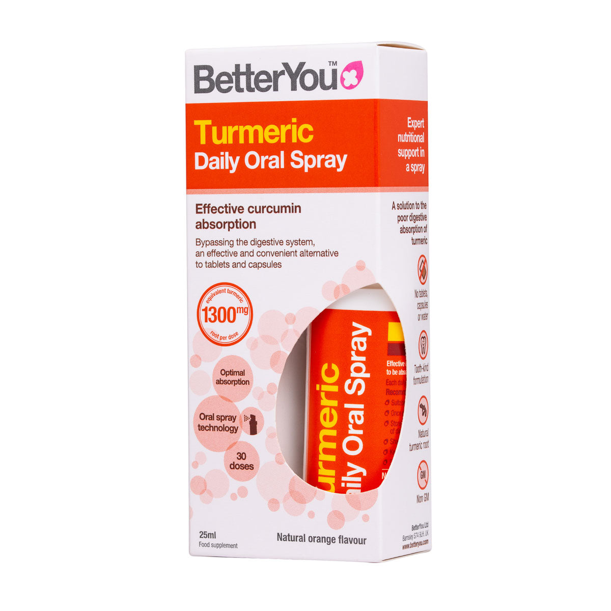 Turmeric | Better You | Raw Living UK | Supplements