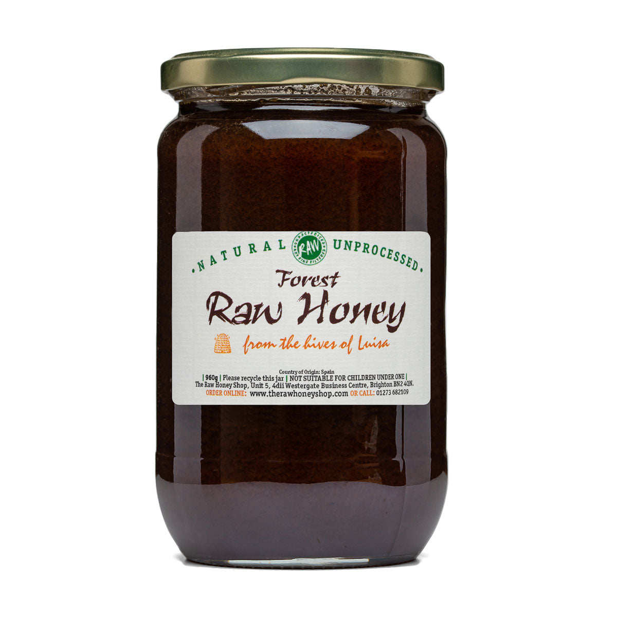 Raw Honey - Forest 960g (Part Set)