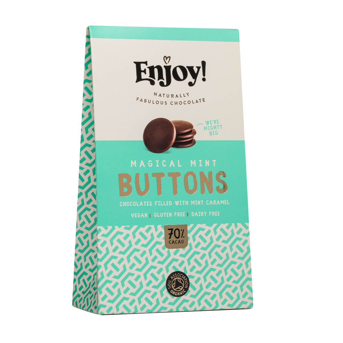 Enjoy Raw Chocolate - Magical Mint Buttons (96g)