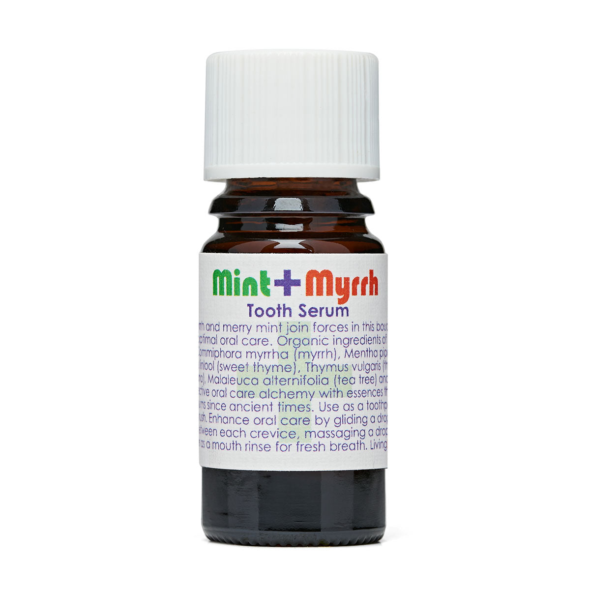 Living Libations - Mint and Myrrh Tooth Serum (5ml)