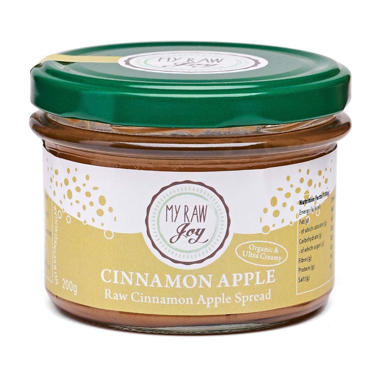 My Raw Joy - Activated Cinnamon Apple Spread (200g)