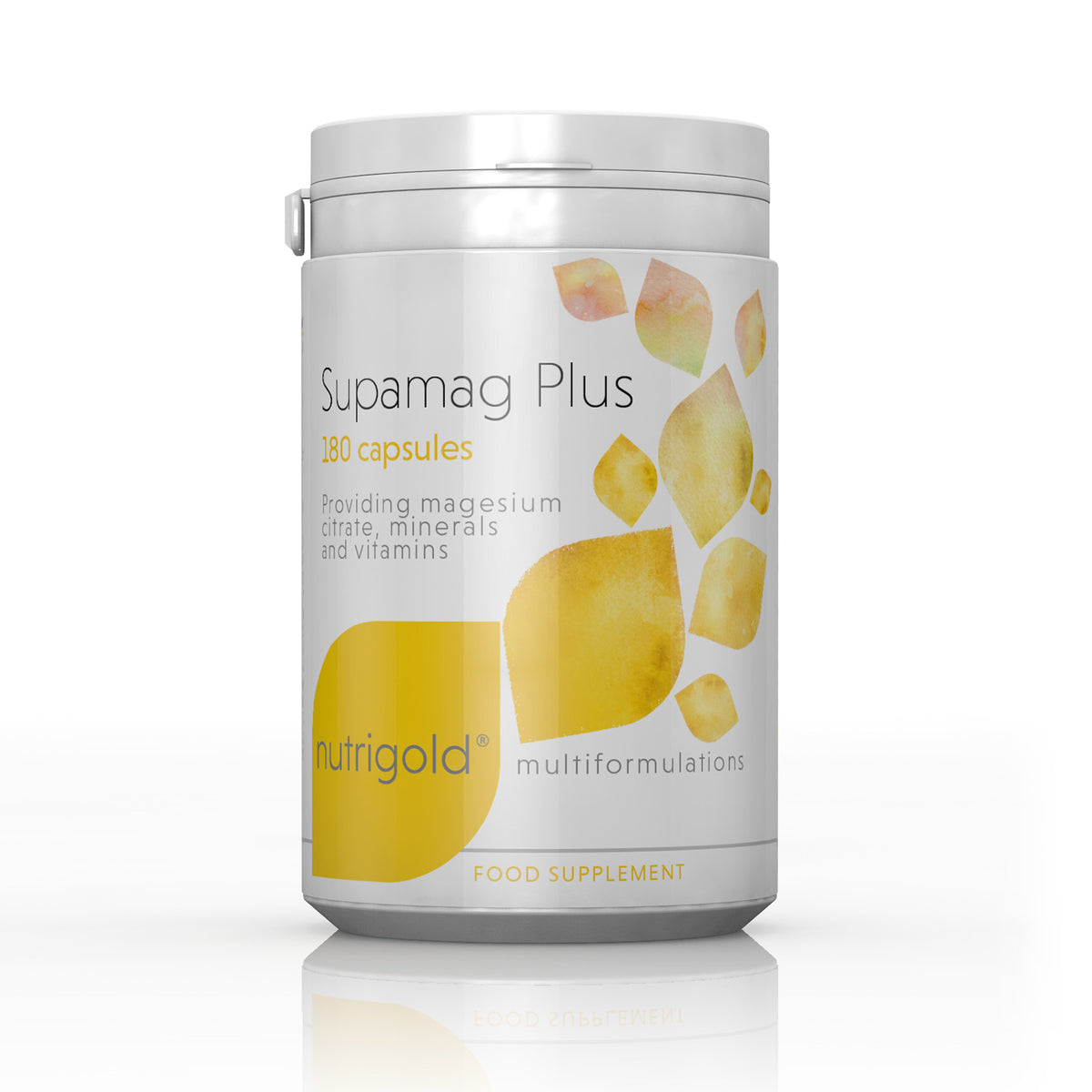 Supamag Plus (180 caps) - Nutrigold