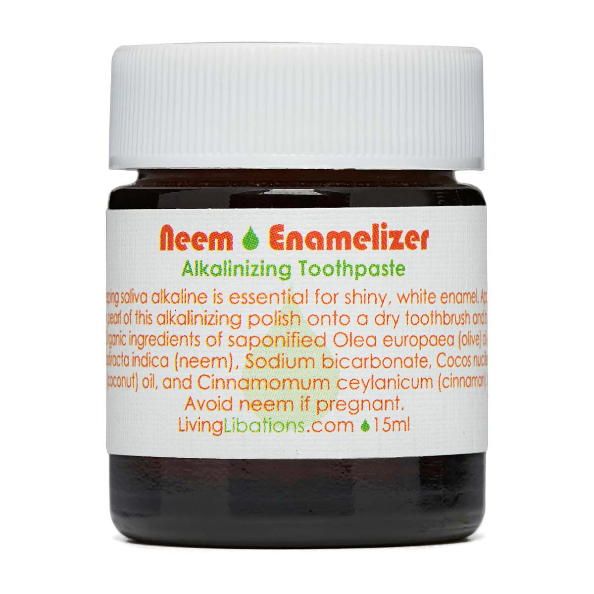 Living Libations - Neem Enamalizer Toothpaste (15ml)