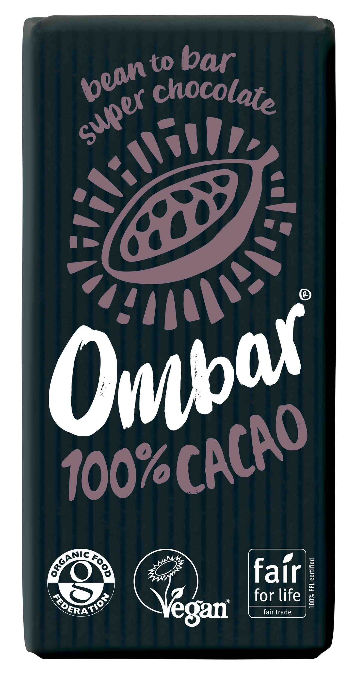 Ombar Organic 100% Cacao (35g)