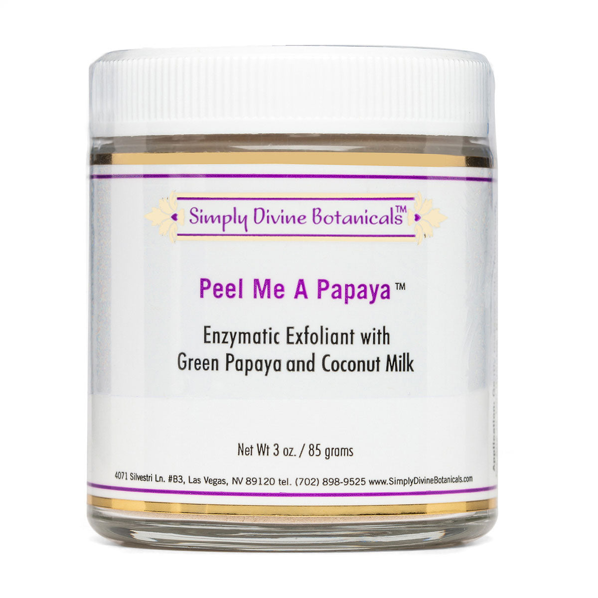 Peel Me A Papaya (3oz) - Simply Divine Botanicals