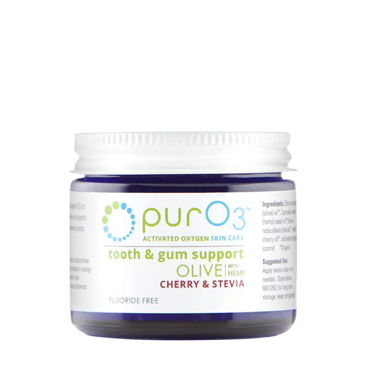 PurO3 Ozonated Tooth and Gum Support Cherry Stevia - SAMPLE (5ml)