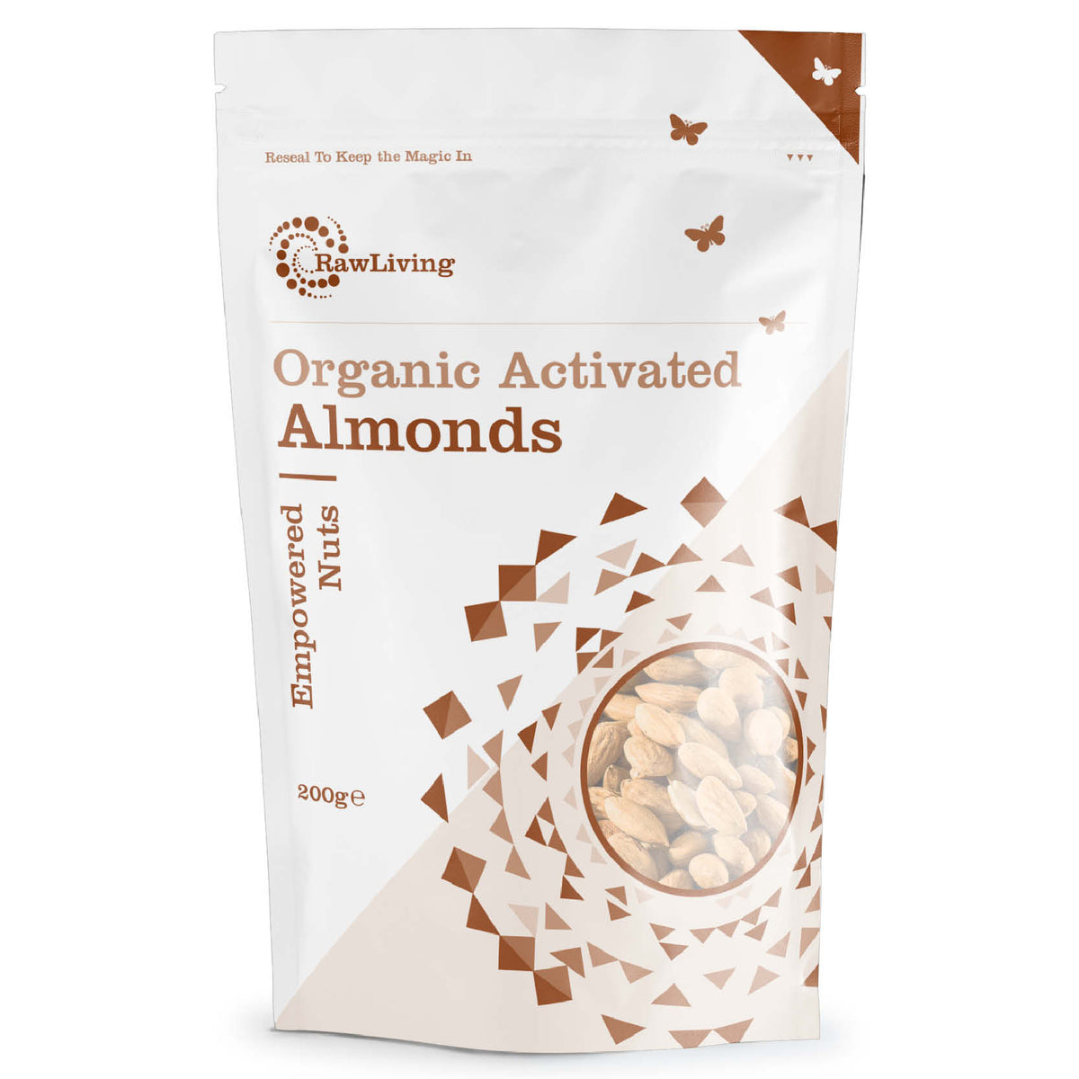 Activated Almonds - Raw & Organic (200g)
