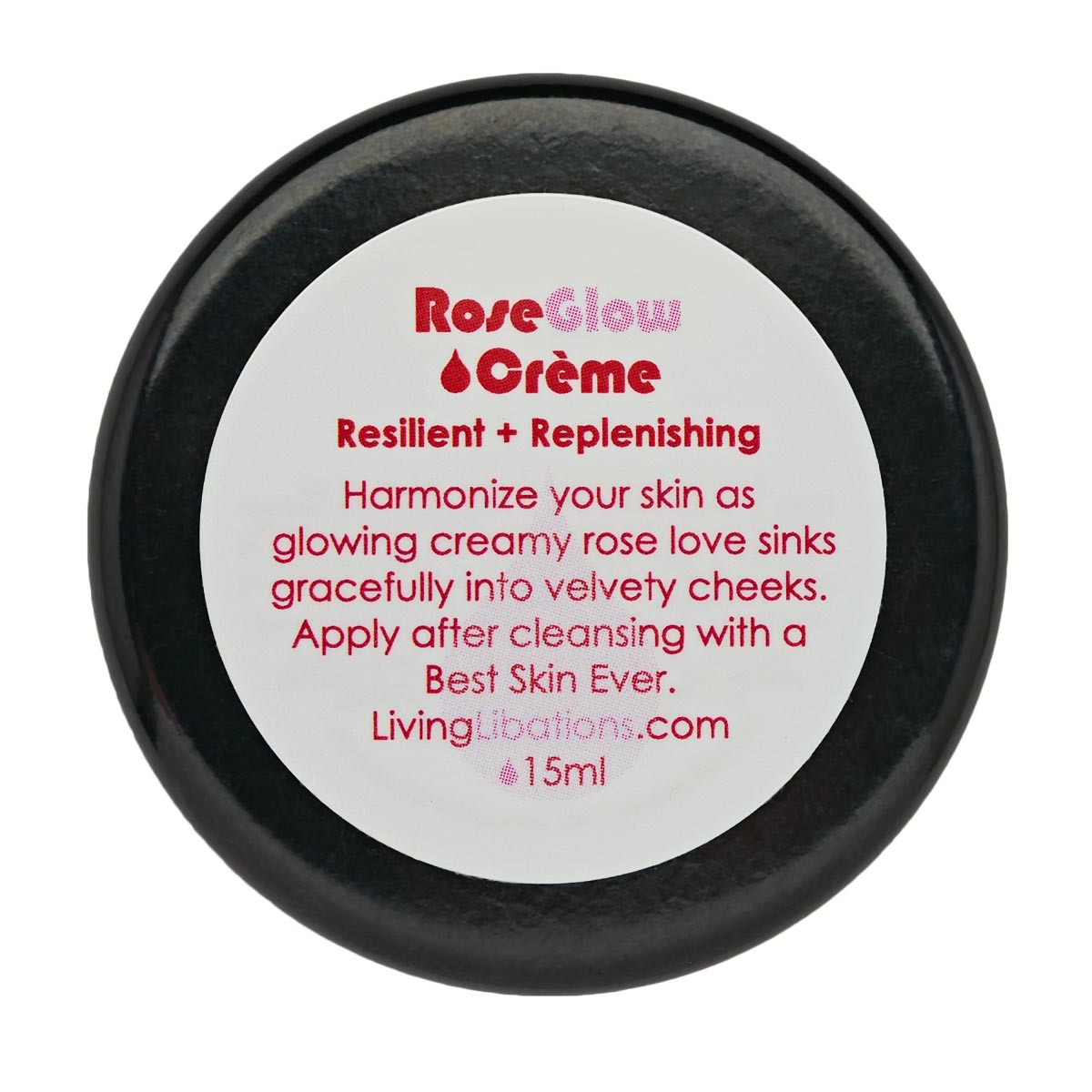 Living Libations - Rose Glow Face Creme (15ml)