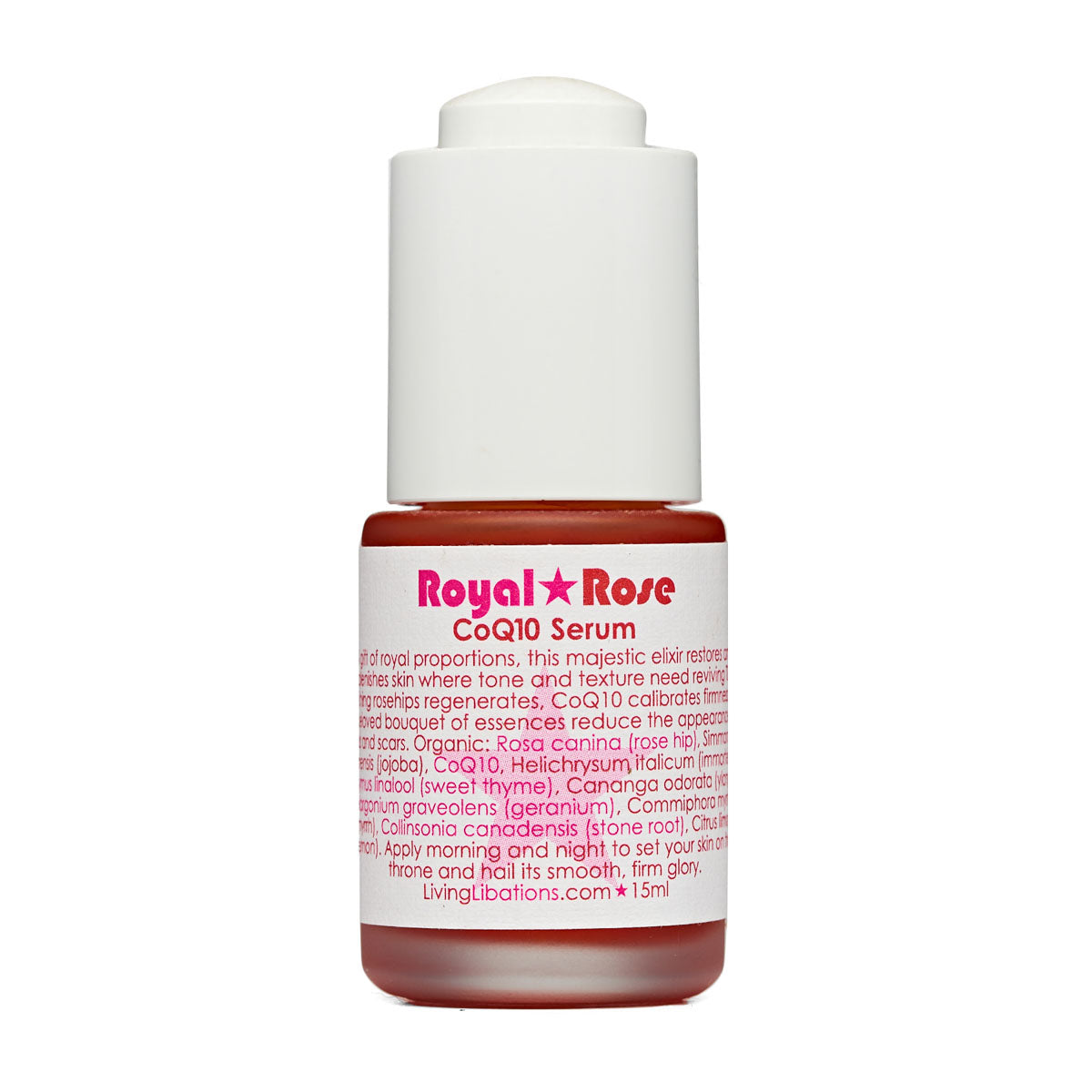 Living Libations - Royal Rose CoQ10 Serum (15ml)